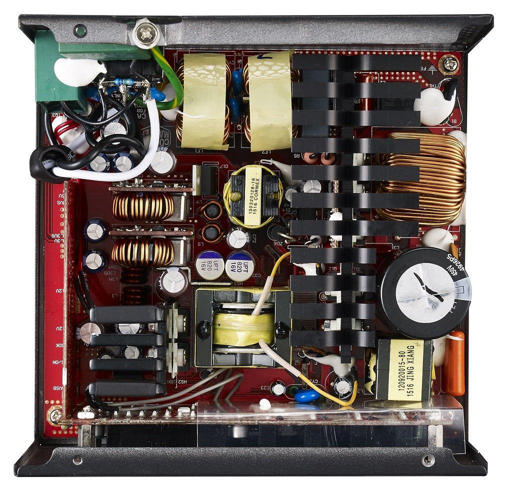 Cooler Master V550-750 – Technik