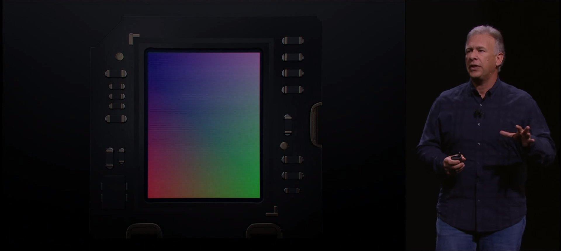 Sensor mit 12 Megapixel