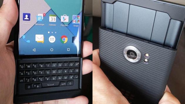 BlackBerry Venice: Android-Slider mit Tastatur in weiten Teilen durchgesickert