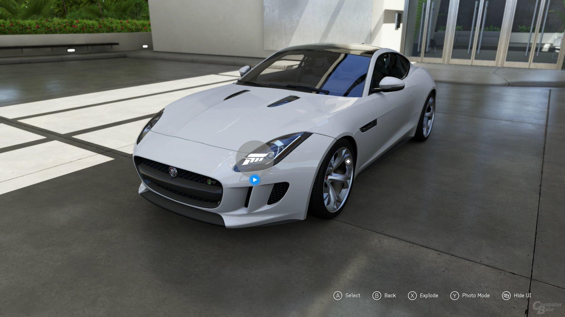 Der Forzavista-Modus ist für jedes Fahrzeug verfügbar