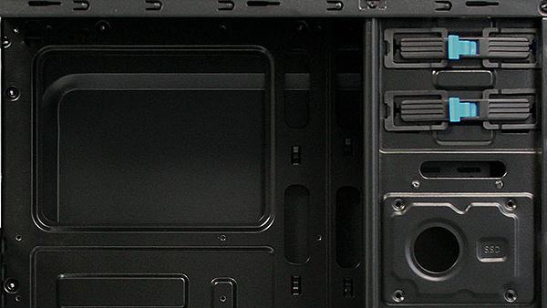 Cooltek: Zweimal USB 3.0 im Einstiegsgehäuse X5 kosten 30 Euro