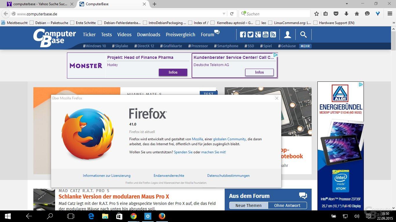 Firefox 41