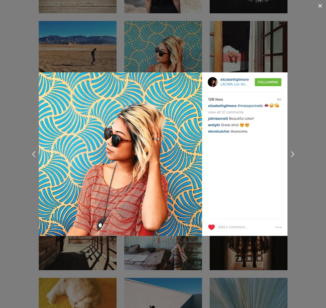 Foto-Posting per Instagram (Desktop)