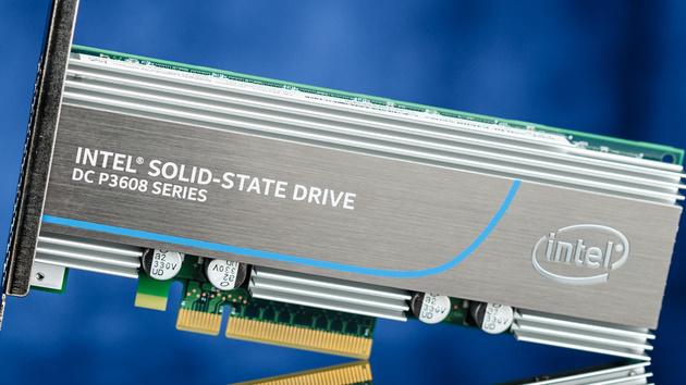 Intel SSD DC P3608: Zwei Controller ermöglichen 5GB/s über PCIe 3.0 x8