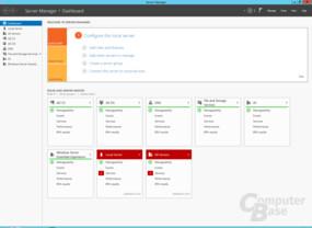 Windows Storage Server 2012 R2 Essentials auf dem Thecus W4000+