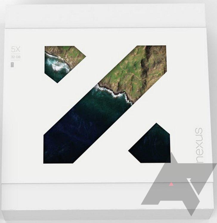 Verpackung des Nexus 5X
