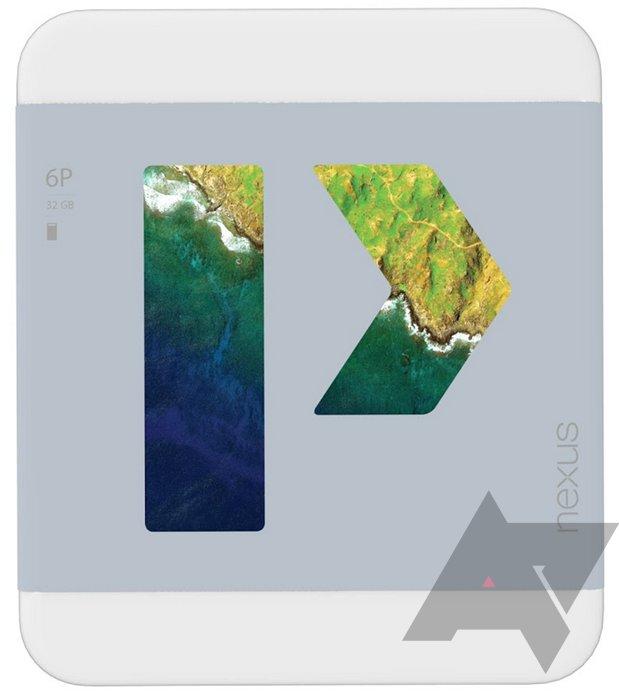 Verpackung des Nexus 6P
