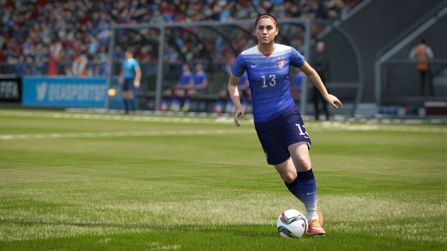 Fifa 16 im Test: Ist Frauenfußball die Lösung?
