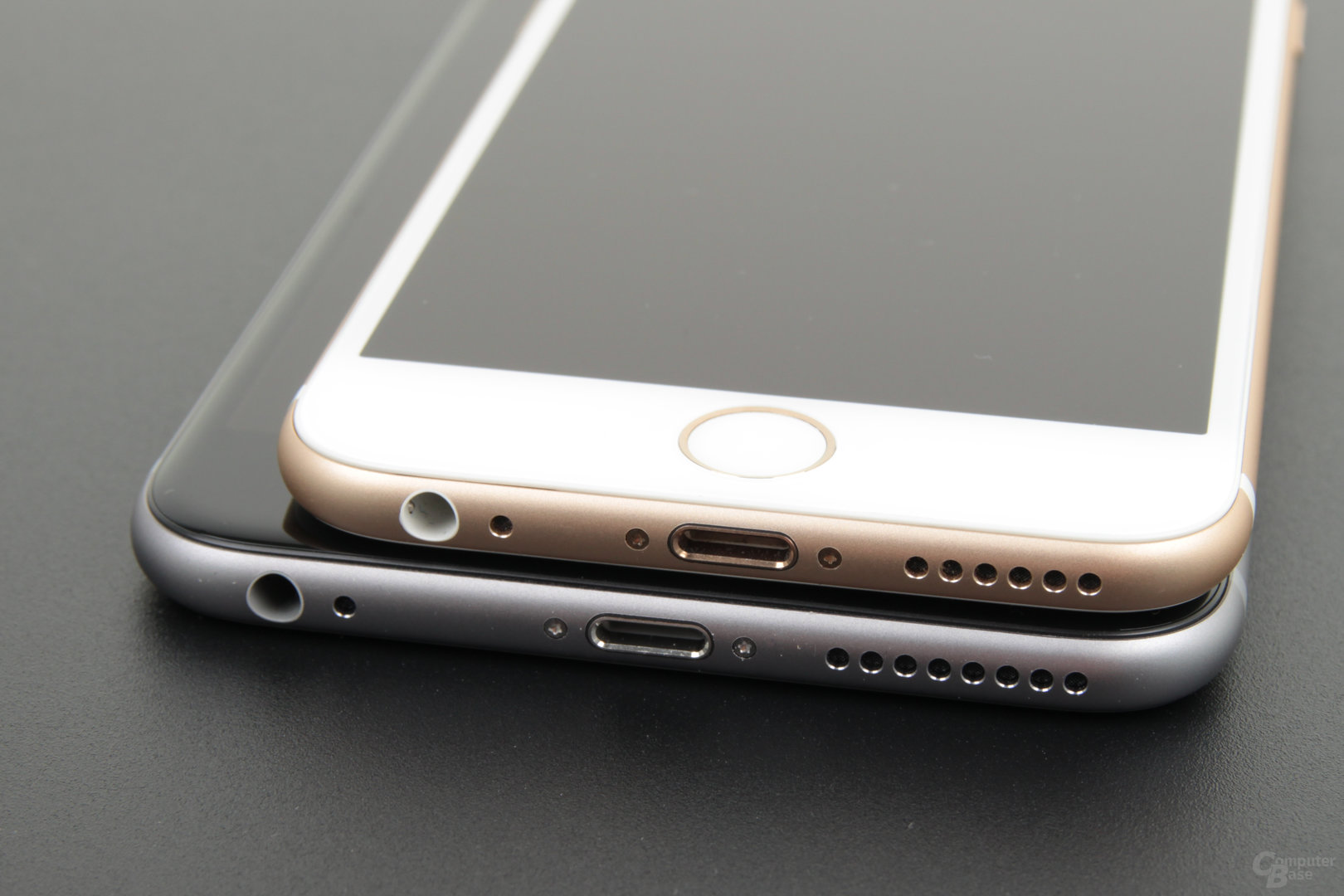 Apple iPhone 6 (oben) und iPhone 6s Plus (unten)