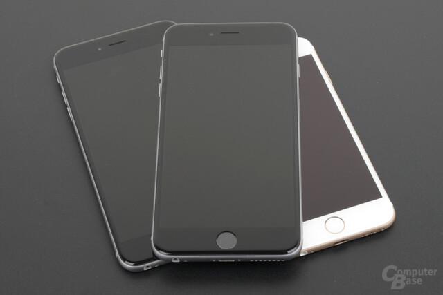 Apple iPhone 6s Plus auf iPhone 6 Plus und iPhone 6