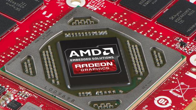 AMD Embedded-Grafikkarten: Neue Modelle mit voller Tonga-GPU bei 95 Watt