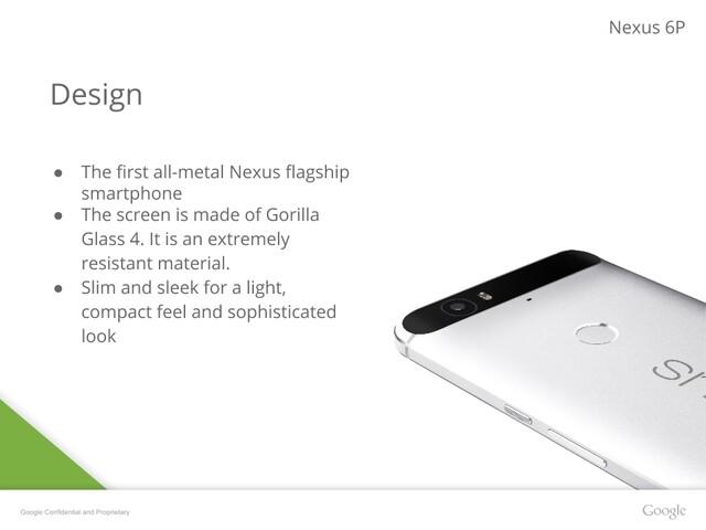 Angebliche Präsentationsfolien des neuen Nexus 6