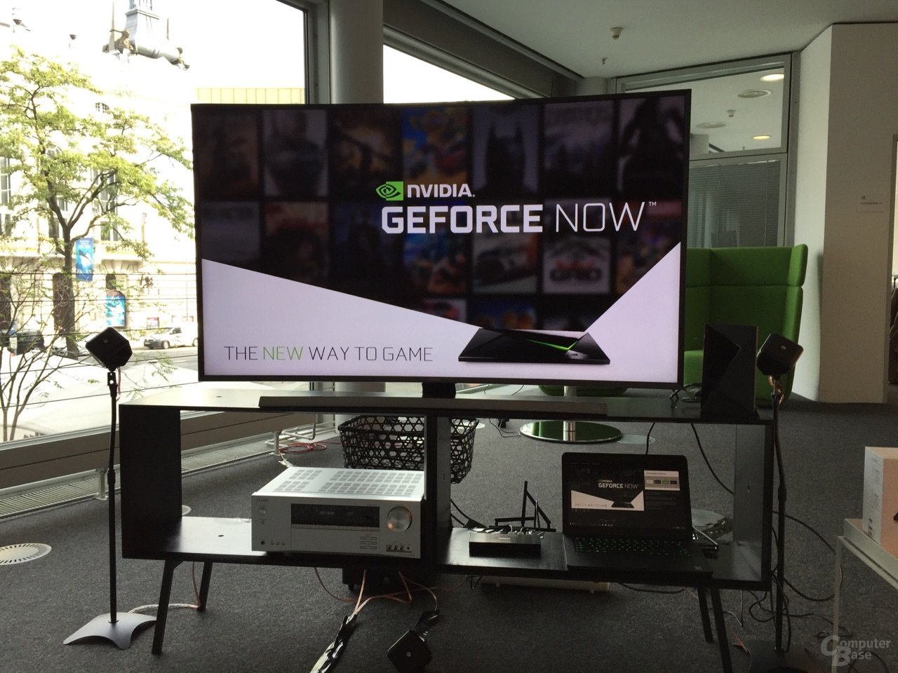 Nvidia Shield mit GeForce Now