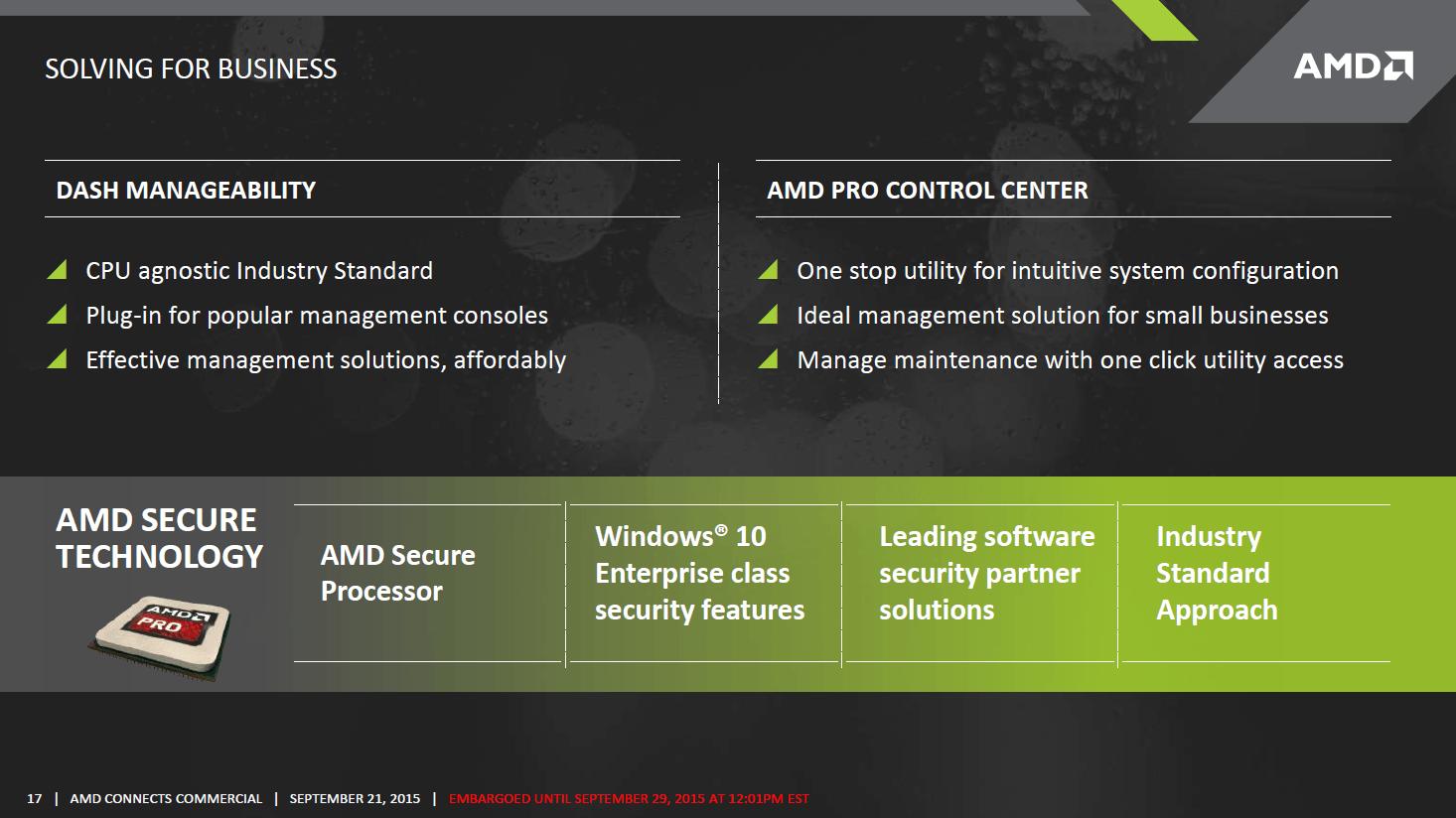 AMD Pro-Serie  auf Basis von Carrizo