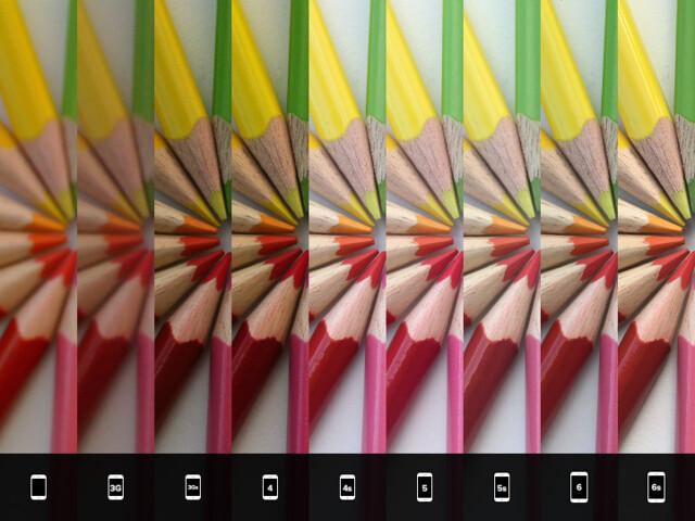 iPhone-Kameras im Vergleich