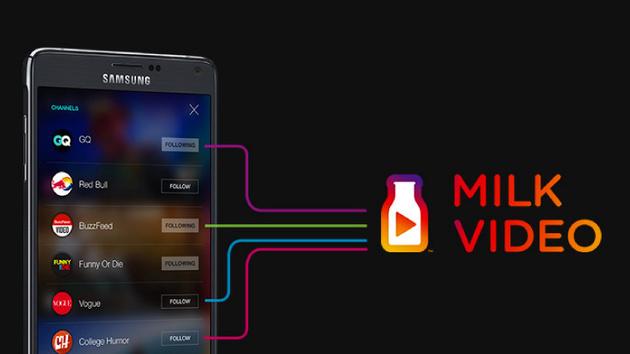 Milk Video: Samsung stellt Videodienst nach einem Jahr ein