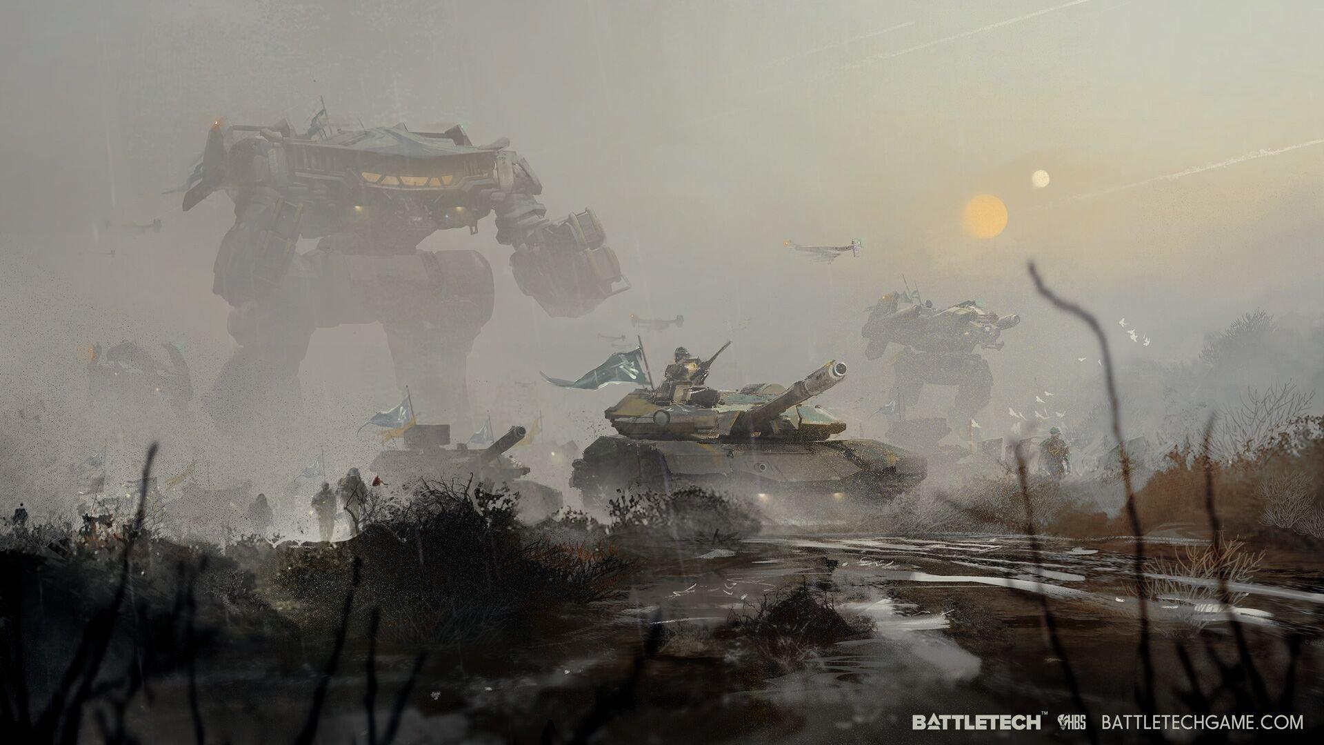 Battletech Concept Art