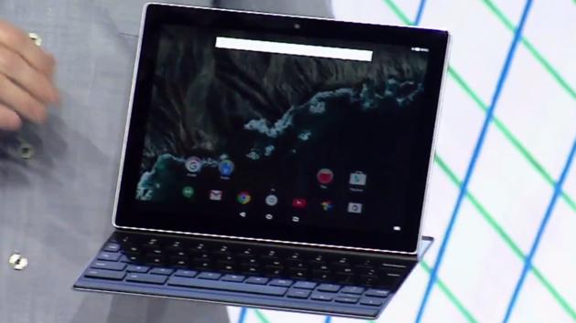 """Google: Mit dem Pixel C und """"smarter Tastatur"""" gegen das Surface"""