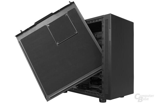 Thermaltake Suppressor F31 – Bitumenmatten an den Seitenwänden