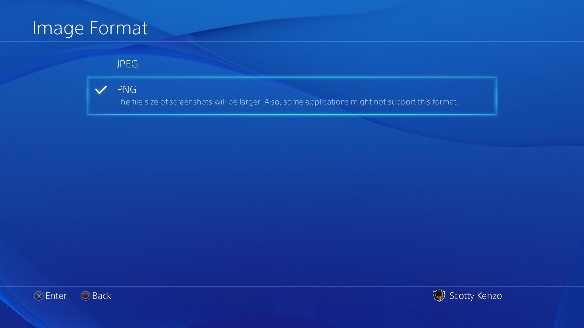 PlayStation 4 Firmware 3.0 – PNG-Screenshots