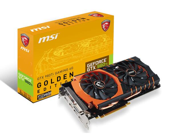 GTX 980 Ti Gaming 6G Golden Edition