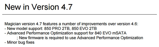 Advanced Performance Optimization für 840 Evo mSATA