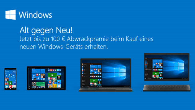 "Windows 10: Microsoft lockt ab 6. Oktober mit ""Abwrackprämie"""