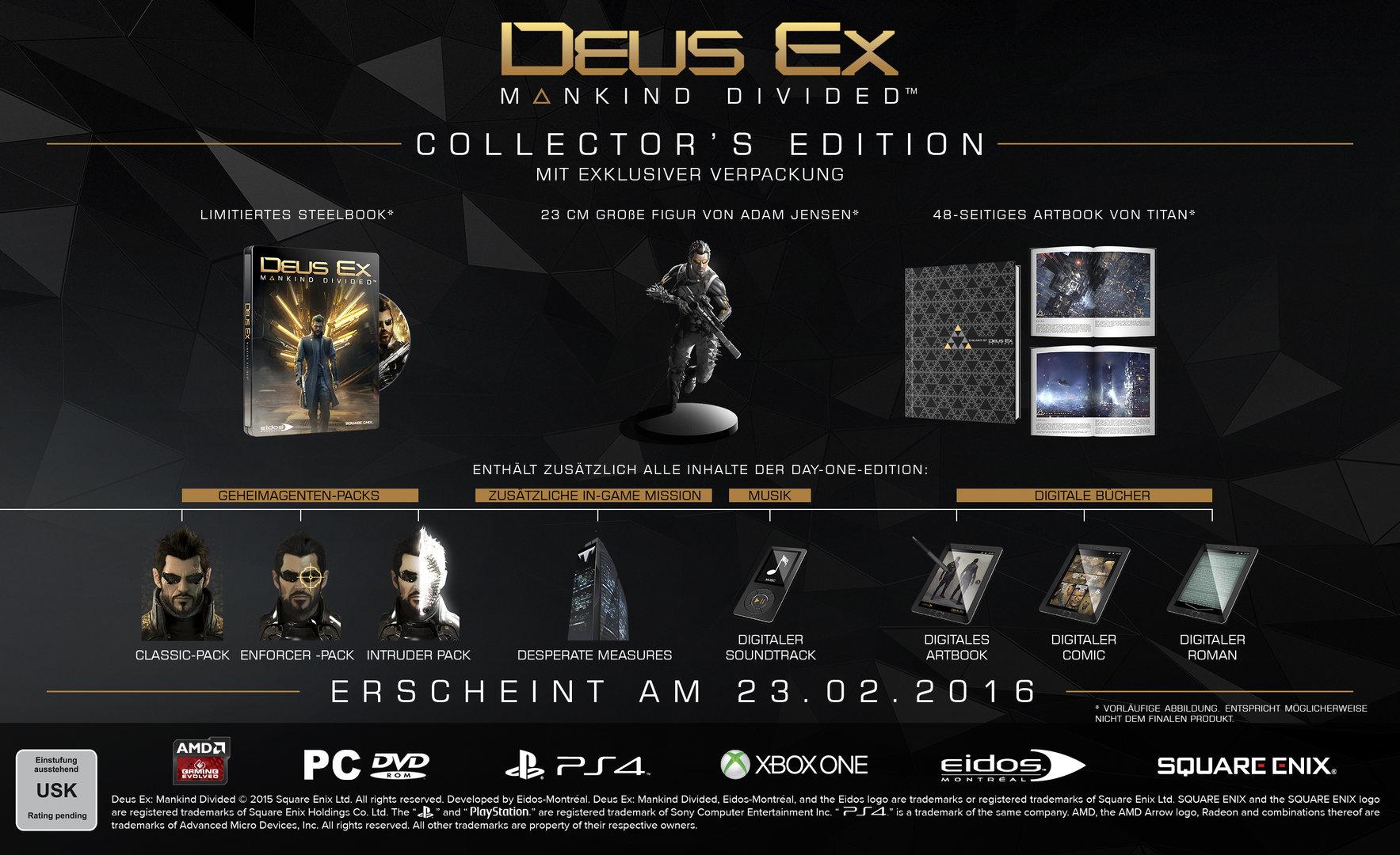 Collectors Edition von Deus Ex