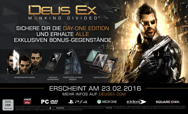 Day-One-Edition von Deus Ex