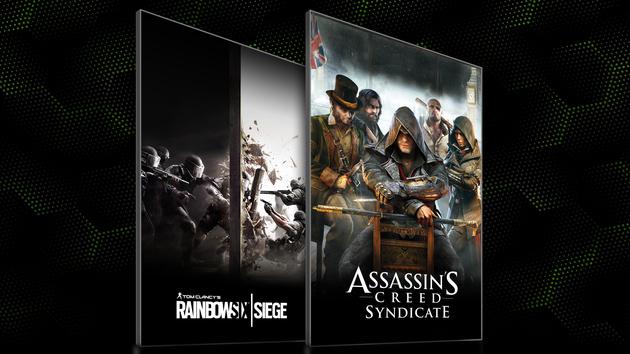 Nvidia: Neues Spielebundle mit AC: Syndicate und Rainbow Six Siege