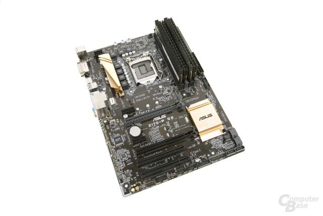 Das Asus Z170-P D3 für DDR3-Speicher