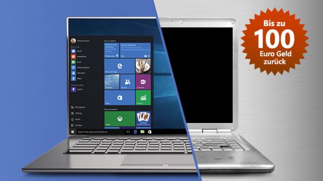 Abwrackprämie: Microsofts Cashback-Aktion für Windows 10 ist online