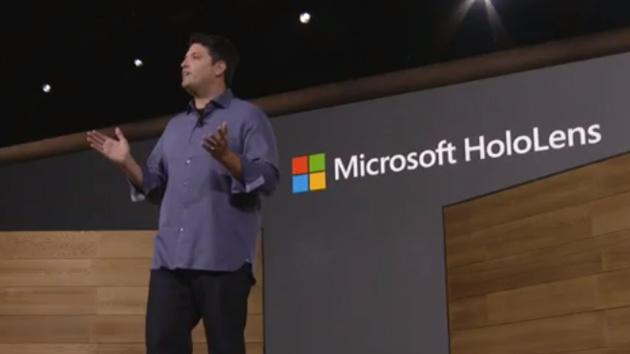 Microsoft: HoloLens kostet Entwickler zum Start 3.000 US-Dollar