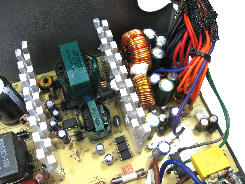 Corsair VS350 – Sekundärseite