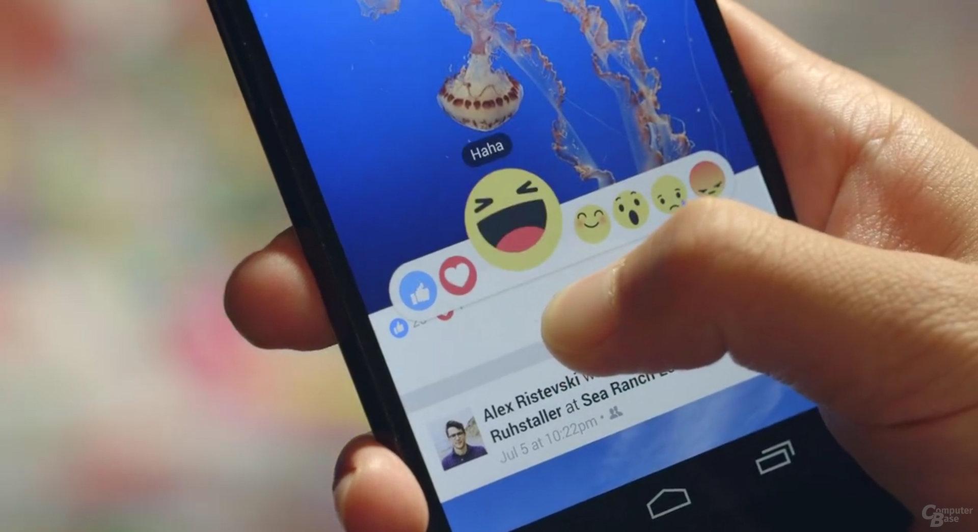 Facebook zeigt neue Like-Funktionen