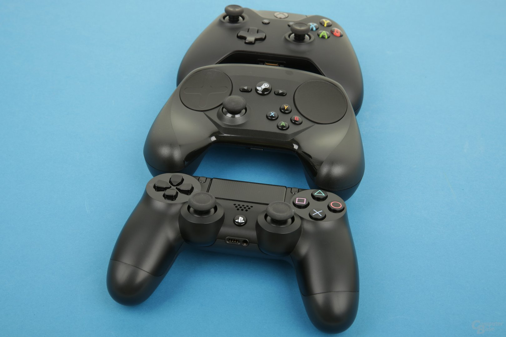 DualShock 4 – Steam Controller – Xbox One