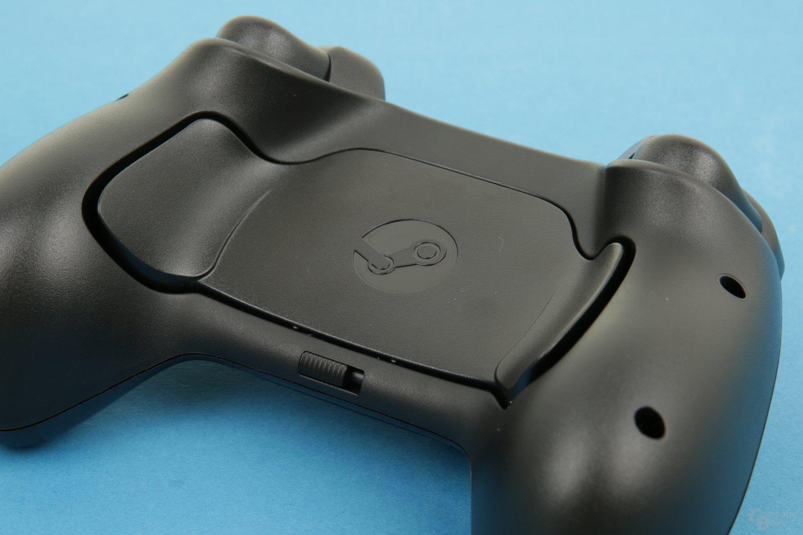 Steam Controller – Tasten Rückseite