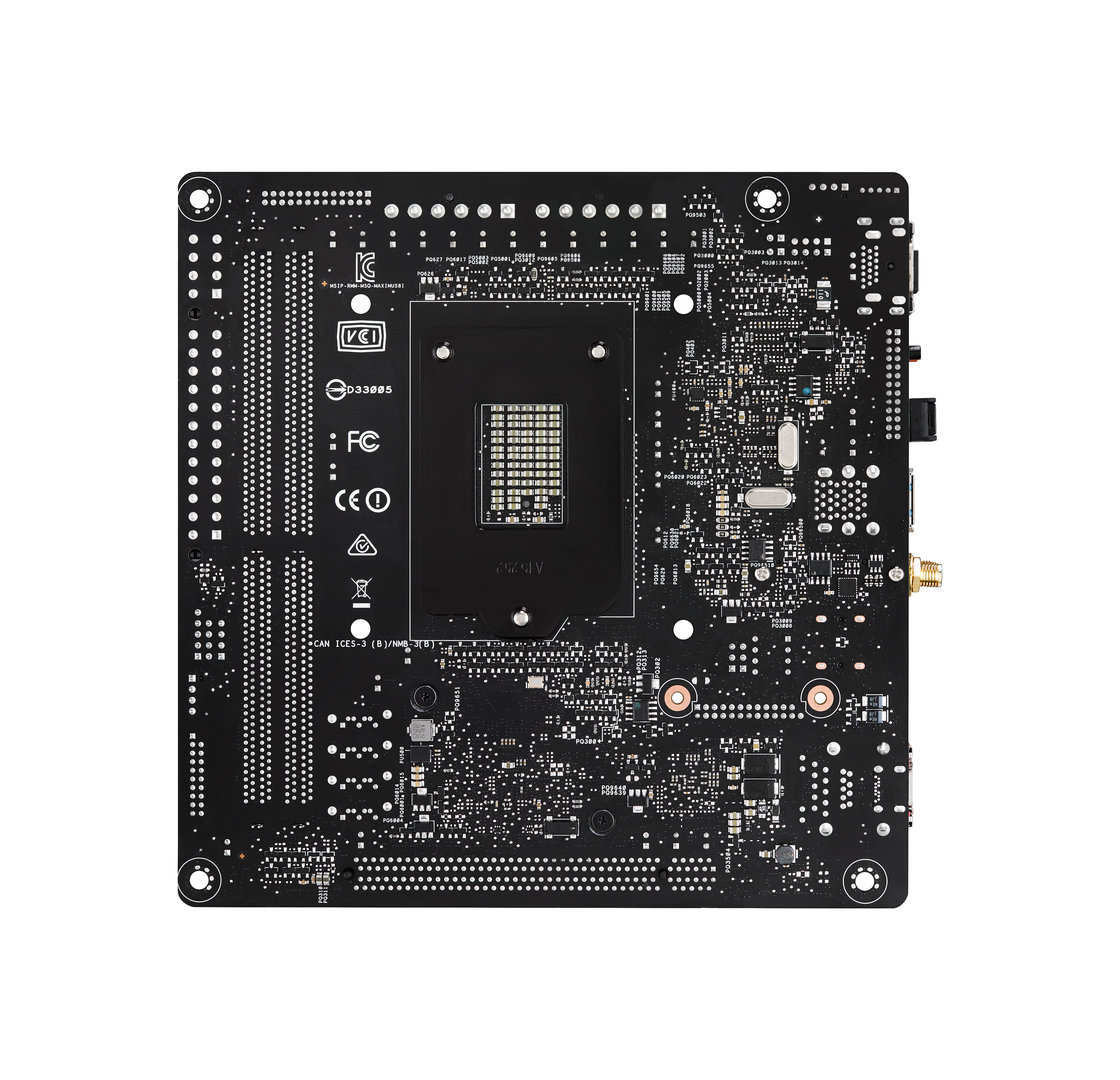 Asus Maximus Viii Impact High End Board F 252 R Skylake