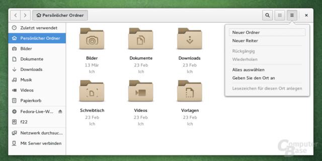 GNOME 3.18 Files