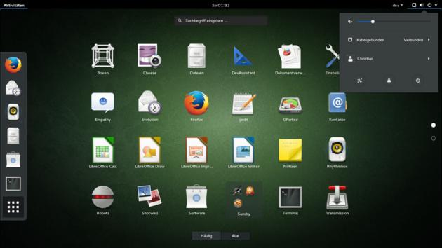 Linux-Wissen: Die Desktop-Umgebung GNOME