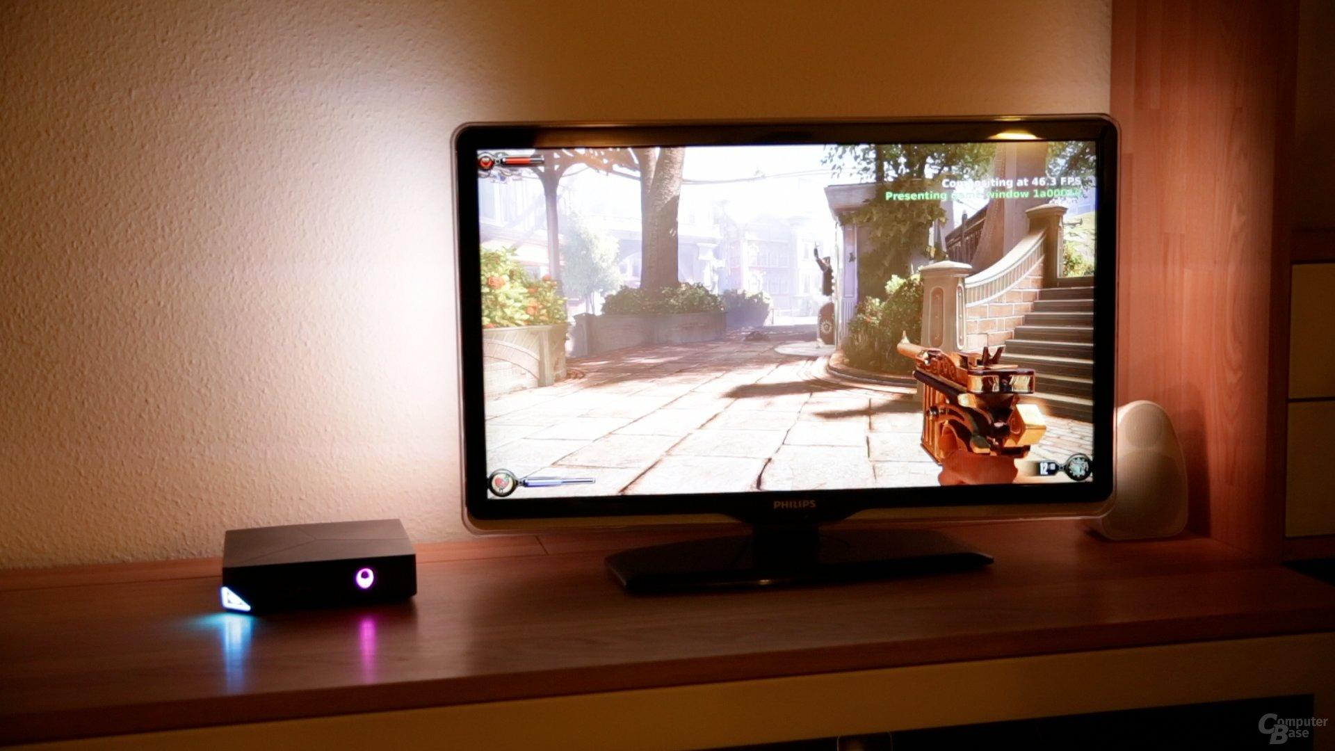 BioShock: Infinite auf der Alienware Steam Machine