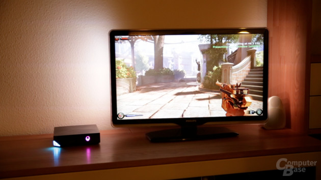 BioShock: Infinite auf der Alienware Steam Machine