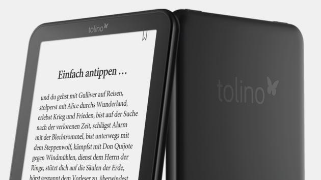 E-Book-Reader: Tolino Shine 2 HD und Vision 3 HD mit 300‑ppi‑Auflösung