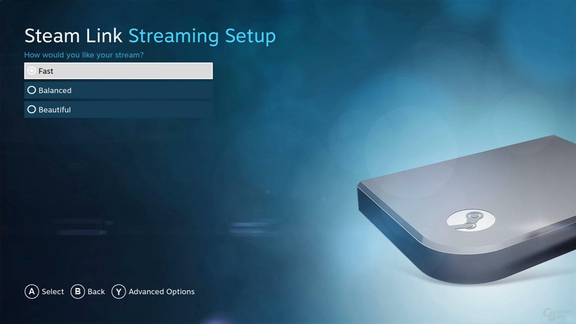 Streaming-Qualität