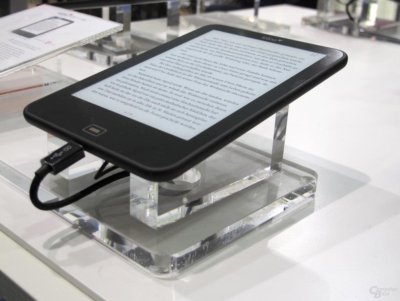 Tolino Vision 3 HD auf der Frankfurter Buchmesse ausprobiert