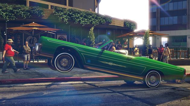 GTA V: Update liefert Lowrider und vierte Garage
