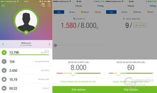 Runtastic Me – App-Übersicht