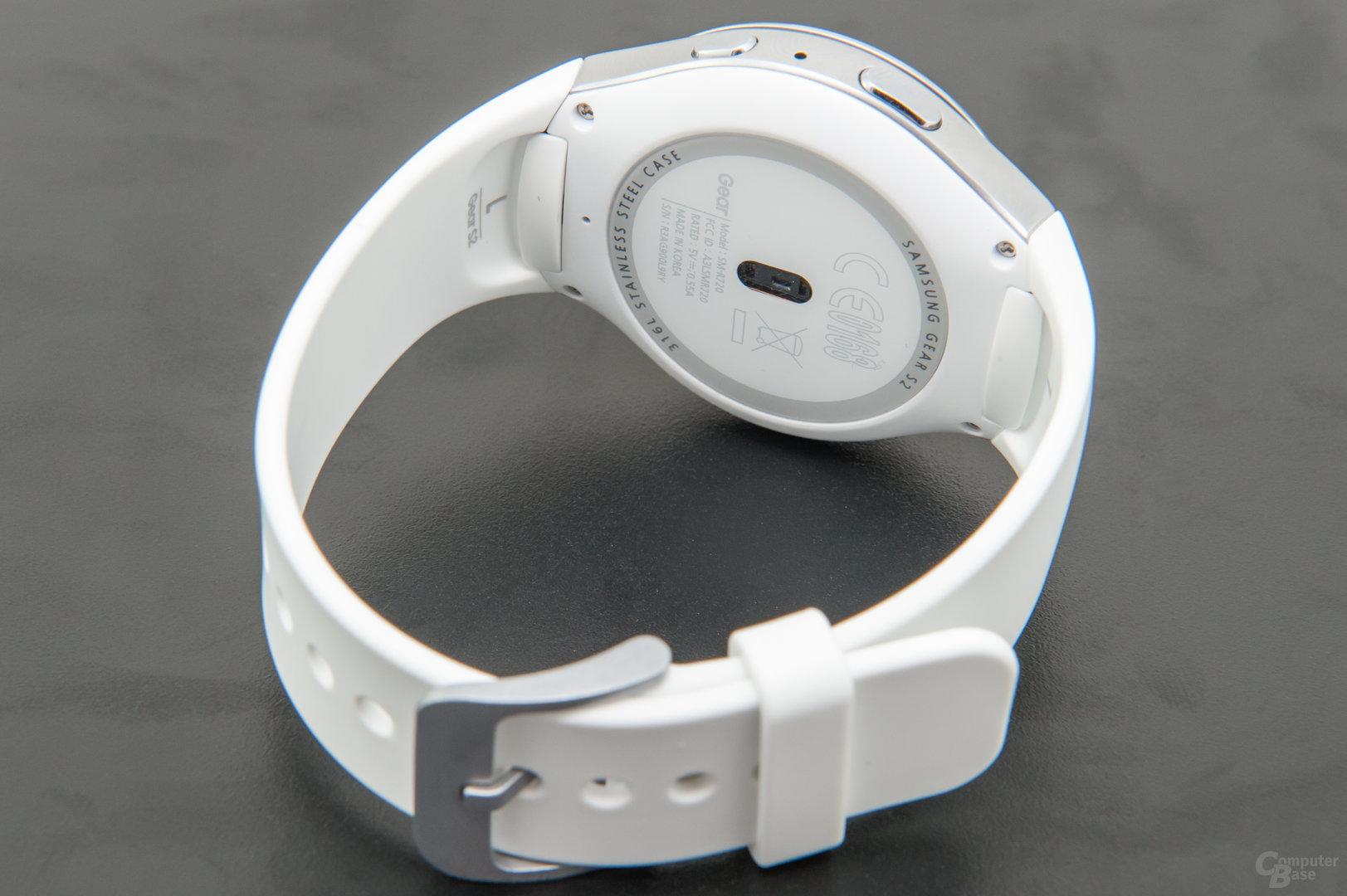 Samsung Gear S2 – Bodenansicht