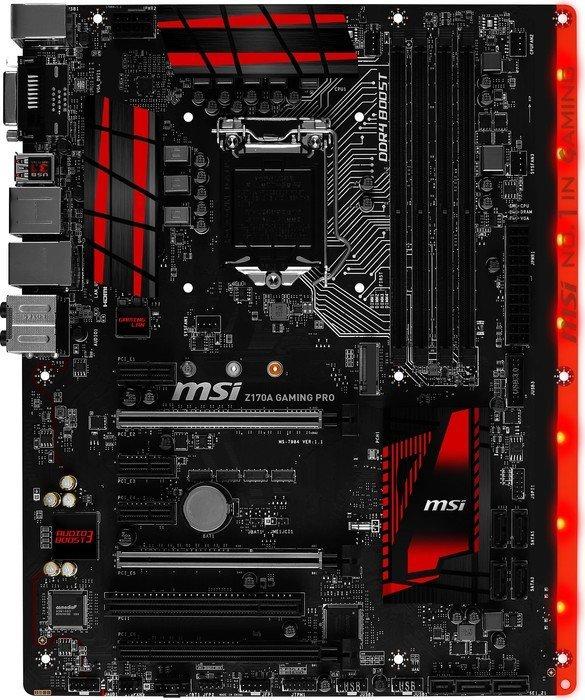 MSIs Gaming-Serie setzt auf Schwarz und Rot
