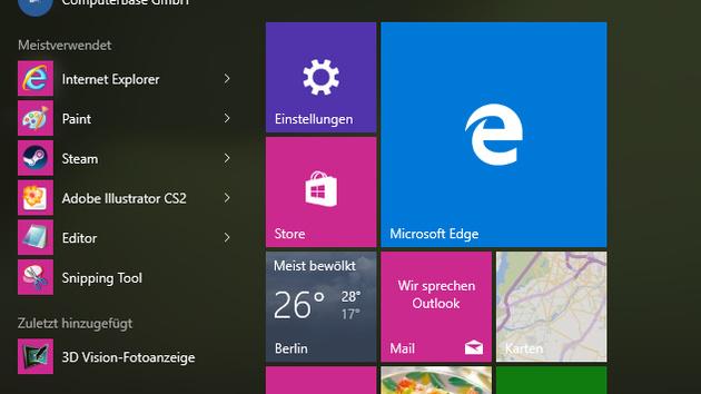 """Windows 10: """"Gib Microsoft Edge eine Chance"""" beim Browserwechsel"""